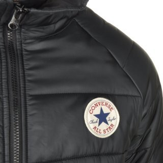 Куртка Converse Core Long Hooded Puffer - фото 8