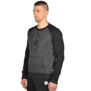 Кофта Converse Core Ext Tipped Rib Front Pkt Cp Crew - фото 2