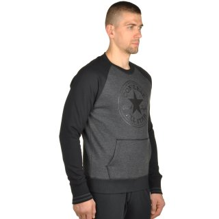 Кофта Converse Core Ext Tipped Rib Front Pkt Cp Crew - фото 4