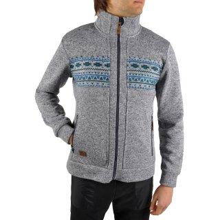 Кофта East Peak mens knitted fulzip w/print - фото 5