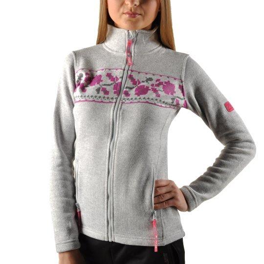 Кофта EastPeak Ladys Knitted Fulzip W/Print - фото