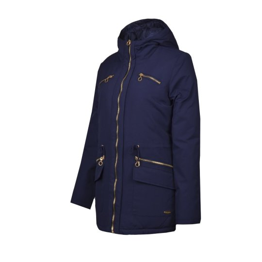 Куртка-пуховик Champion Hooded 3/4 Duck Down Jacket - фото