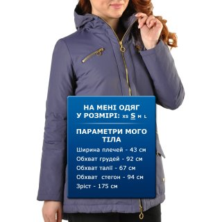 Куртка-пуховик Champion Hooded 3/4 Duck Down Jacket - фото 3