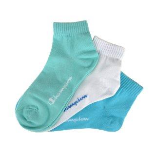 Носки Champion 3pk Quarter Socks - фото 1