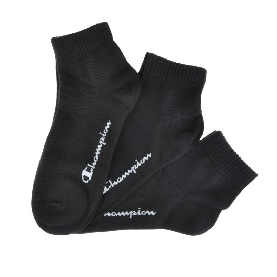 Носки Champion 3pk Quarter Socks - фото