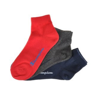 Носки Champion 3pk Quarter Socks - фото 1