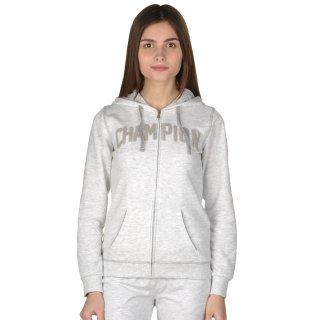 Кофта Champion Hooded Full Zip Sweatshirt - фото 1