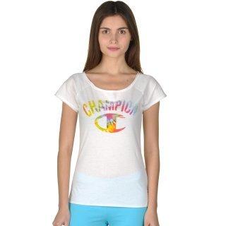 Футболка Champion Boat Neck T'shirt - фото 1