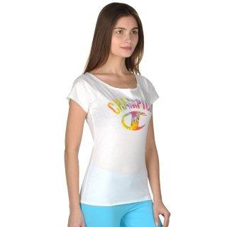 Футболка Champion Boat Neck T'shirt - фото 4