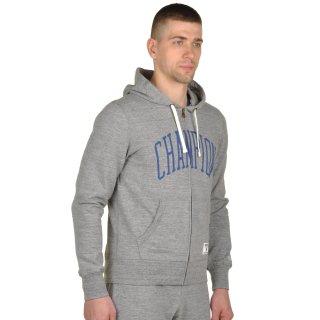 Кофта Champion Hooded Full Zip Sweatshirt - фото 4