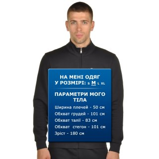 Кофта Champion Full Zip Sweatshirt - фото 7