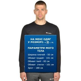 Футболка Champion Long Sleeve Crewneck T-Shirt - фото 6