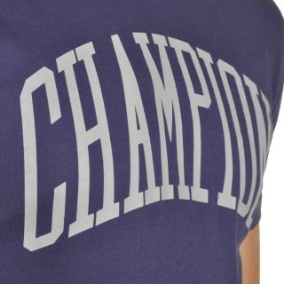 Футболка Champion Crewneck T-Shirt - фото 5