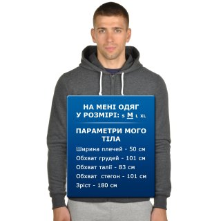 Кофта Champion Hooded Full Zip Sweatshirt - фото 7