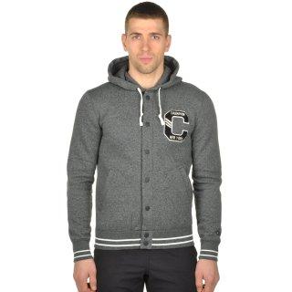 Кофта Champion Full Buttoned Hooded Sweatshirt - фото 1