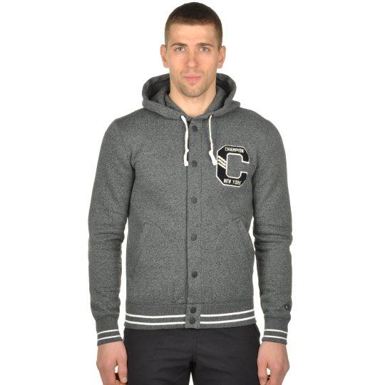 Кофта Champion Full Buttoned Hooded Sweatshirt - фото