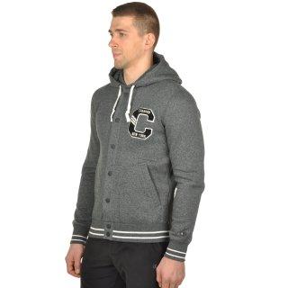 Кофта Champion Full Buttoned Hooded Sweatshirt - фото 2