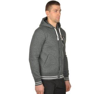 Кофта Champion Full Buttoned Hooded Sweatshirt - фото 5