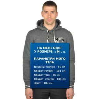 Кофта Champion Full Buttoned Hooded Sweatshirt - фото 9