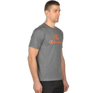 Футболка Champion Crewneck T-Shirt - фото 4
