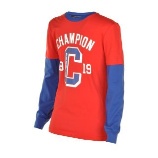 Кофта Champion Long Sleeve Crewneck T-Shirt - фото 1
