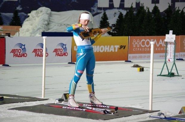 Украинка выиграла чемпионат Европы по биатлону