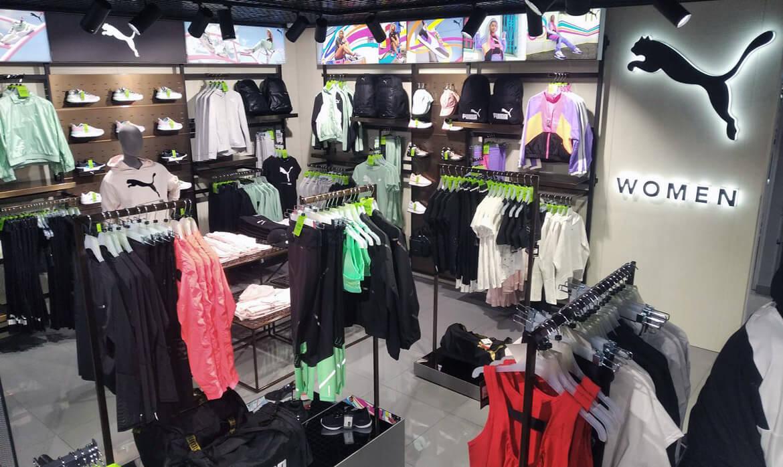 Shop-in-shop в MEGASPORT - фото
