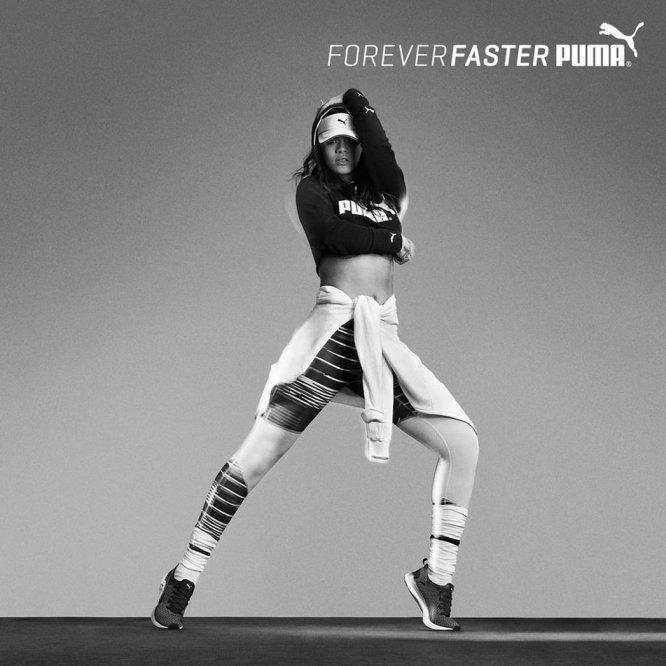 Співачка Ріанна - амбассадор бренду Puma