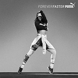 Певица Рианна - амбассадор бренда Puma - фото