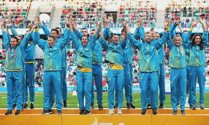 Украинцы на Европейских играх - 2019