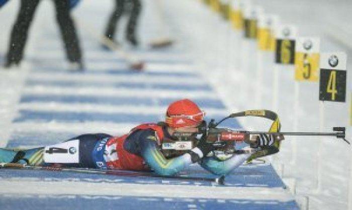 БИАТЛОН. Валя Семеренко — чемпионка мира!
