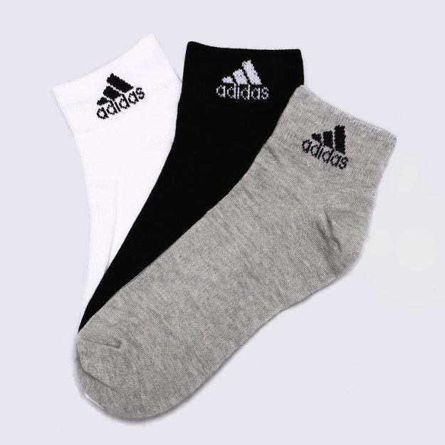 Шкарпетки Adidas Per Ankle T 3pp - 115688, фото 1 - інтернет-магазин MEGASPORT