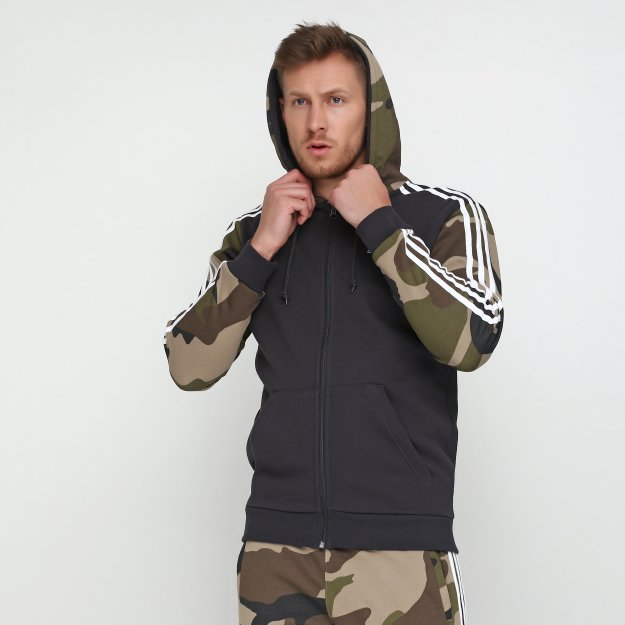 Кофта Adidas Camo Fz Hoody - MEGASPORT
