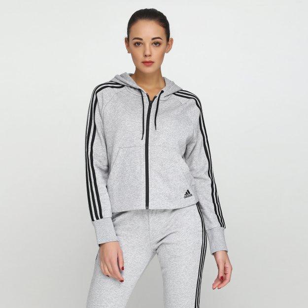 Кофта Adidas W Mh 3s Fz Hd - MEGASPORT
