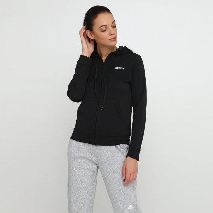 Кофта Adidas W E Pln Fz Hd - 118394, фото 1 - інтернет-магазин MEGASPORT