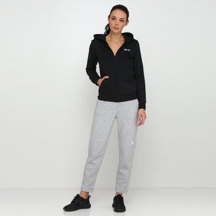 Кофта Adidas W E Pln Fz Hd - 118394, фото 2 - інтернет-магазин MEGASPORT