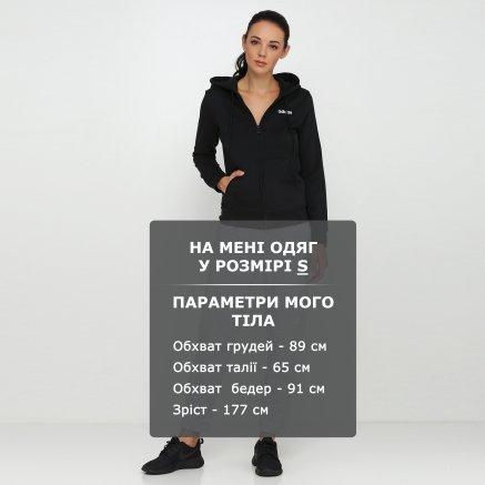 Кофта Adidas W E Pln Fz Hd - 118394, фото 6 - інтернет-магазин MEGASPORT