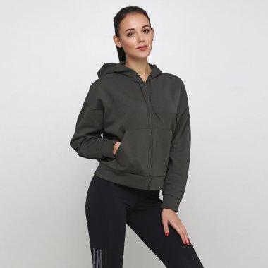 Кофты adidas W Mh 3s Dk Hd - 118835, фото 1 - интернет-магазин MEGASPORT