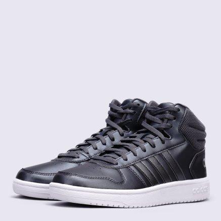 Кеды Adidas Hoops 2.0 Mid - 118438, фото 1 - интернет-магазин MEGASPORT