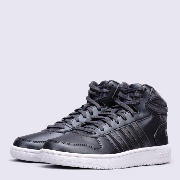 Кеди Adidas Hoops 2.0 Mid - 118438, фото 1 - інтернет-магазин MEGASPORT