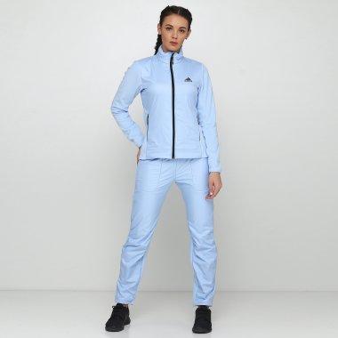 Спортивные штаны adidas W Windfleece P - 118854, фото 1 - интернет-магазин MEGASPORT