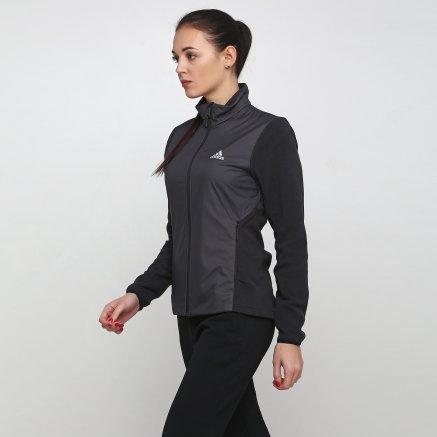 Кофта Adidas W Windfleece J - 118859, фото 1 - інтернет-магазин MEGASPORT