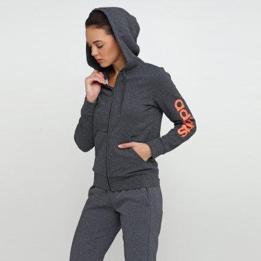 Кофти adidas W E Lin Fzhd Fl - 118444, фото 1 - інтернет-магазин MEGASPORT