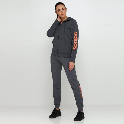 Кофта Adidas W E Lin Fzhd Fl - 118444, фото 2 - інтернет-магазин MEGASPORT