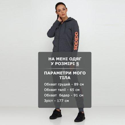 Кофта Adidas W E Lin Fzhd Fl - 118444, фото 6 - інтернет-магазин MEGASPORT