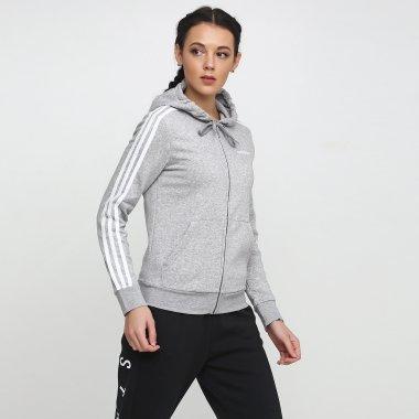 Кофты adidas W E 3s Fz Hd Fl - 118862, фото 1 - интернет-магазин MEGASPORT