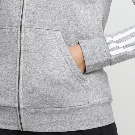Кофта Adidas W E 3s Fz Hd Fl - 118862, фото 4 - інтернет-магазин MEGASPORT