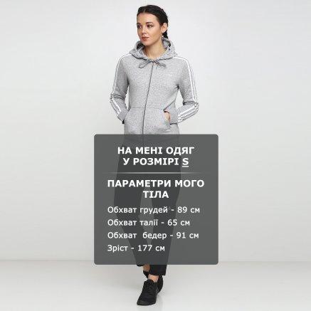 Кофта Adidas W E 3s Fz Hd Fl - 118862, фото 6 - інтернет-магазин MEGASPORT
