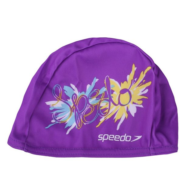 Шапочка для плавания Speedo Polyester Printed Cap Junior - MEGASPORT