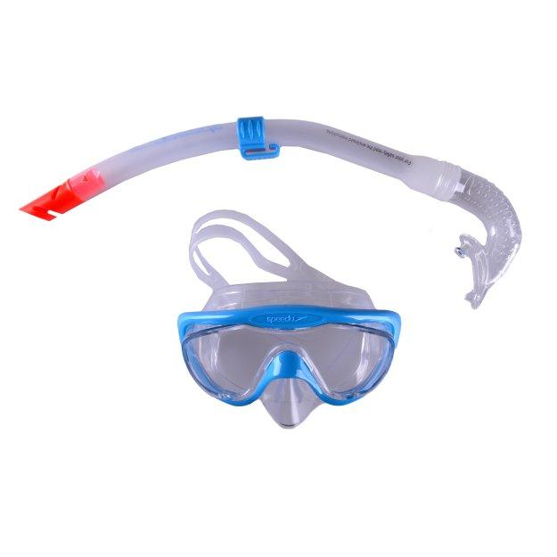 Аксессуары для плавания Speedo Glide Junior Snorkel Set - 7020, фото 1 - интернет-магазин MEGASPORT